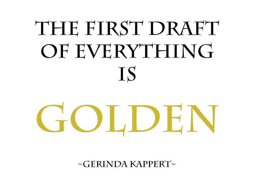 schrijvers advies first draft