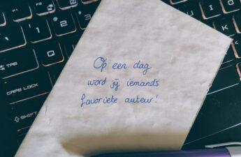 schrijf ideeën