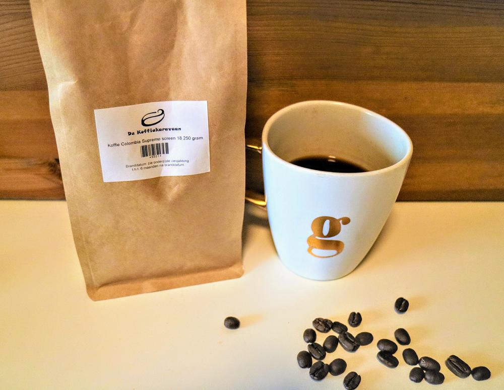 Langzame koffie, een hele belevenis.